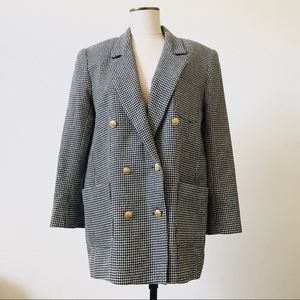 VINTAGE Oversized Double Breasted Blazer